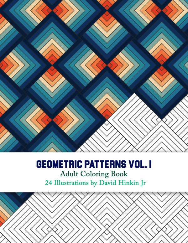 Geometric patterns volume 1 cover