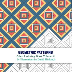 Geometric patterns volume 2 cover