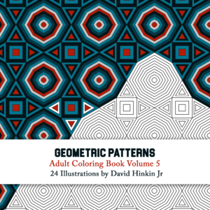 Geometric Patterns volume 5 cover