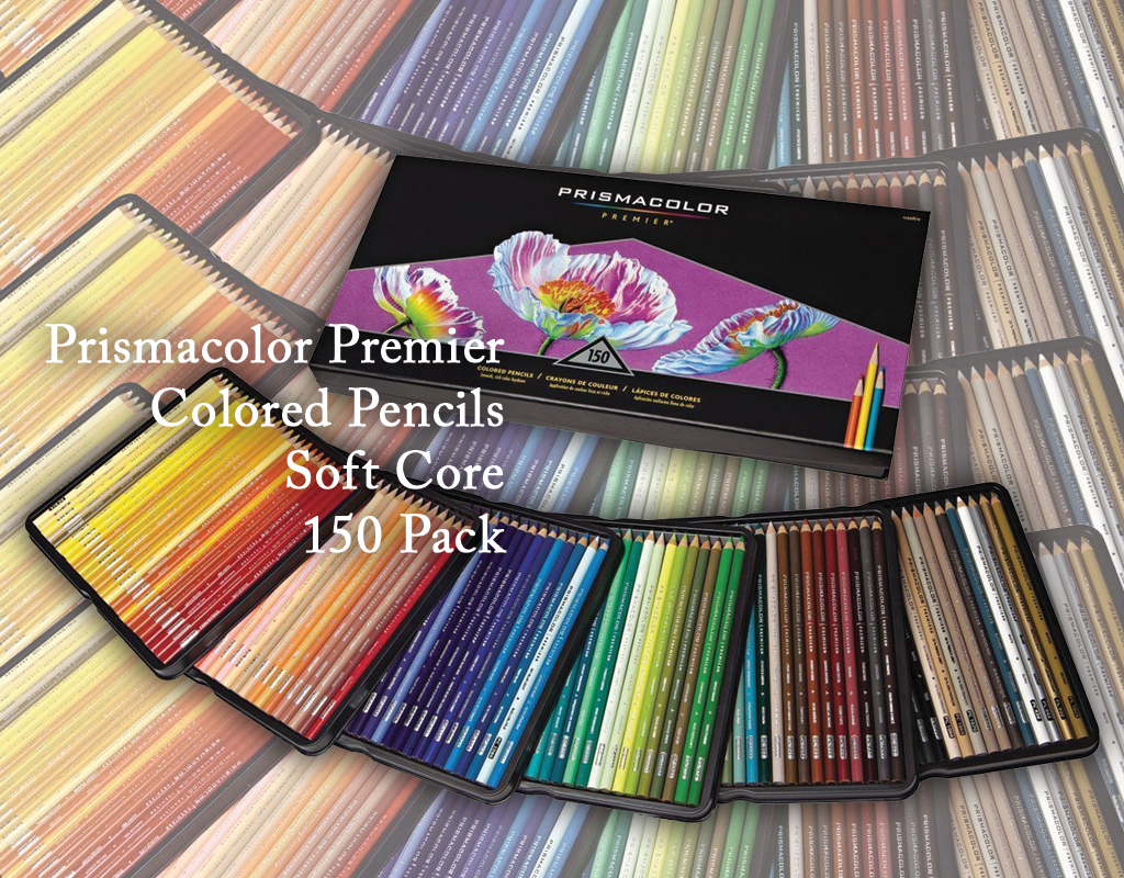 prismacolor premier colored pencils soft core 150 Pack incartel.net