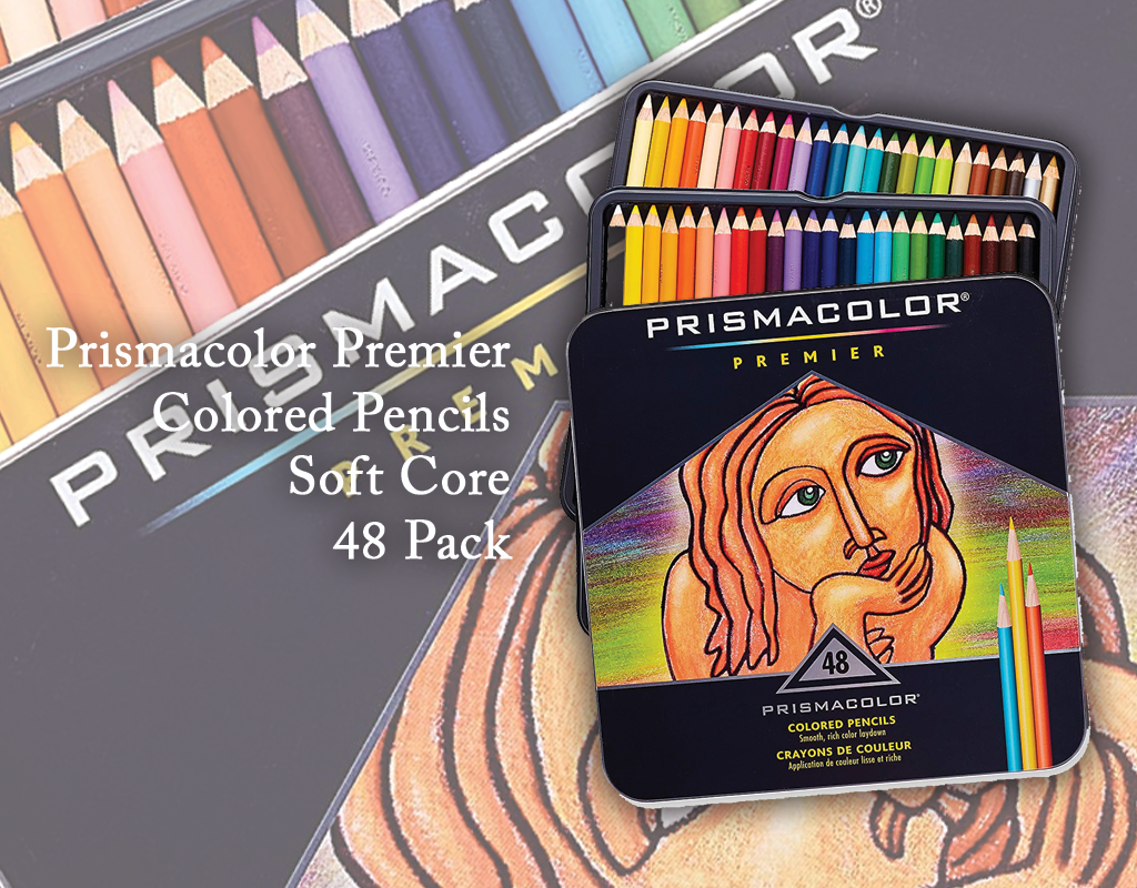 prismacolor premier colored pencils soft core 48 Pack incartel.net